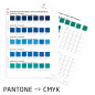 Preview: PANTONE to CMYK by Proof.de
