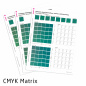 Preview: PANTONE to CMYK Matrix by Proof.de