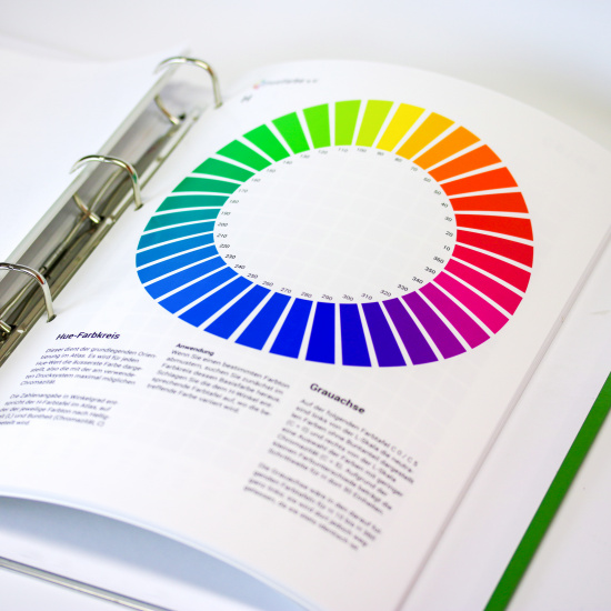 CIELAB HLC Colour Atlas by freieFarbe e.V. / freeecolour.org - HLC colour wheel