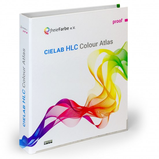 CIELAB HLC Colour Atlas by freieFarbe e.V. / freeecolour.org - ring binder