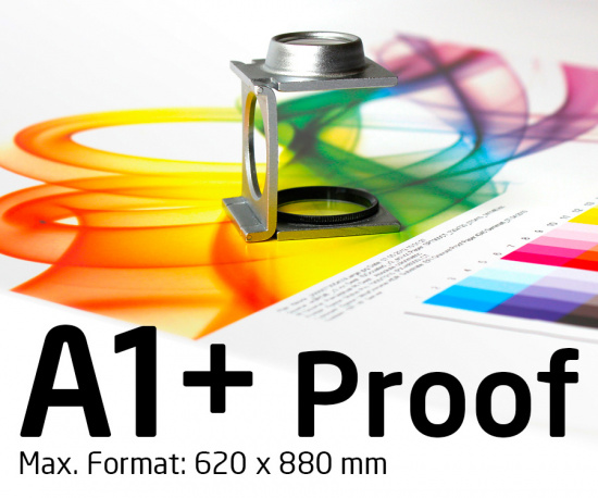 A1+ Proof farbverbindlich, Staffelpreis ab € 28,-