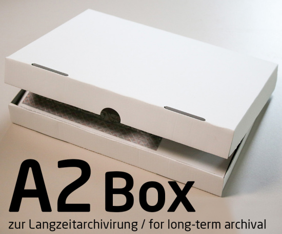 Photo Archive Box for DIN A2 Prints for Long-term Archiving