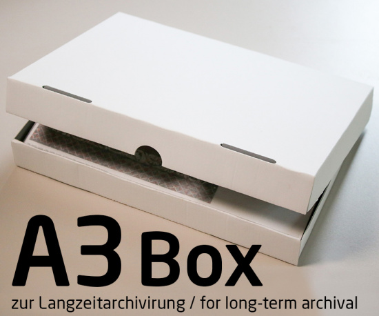 Photo Archive Box for DIN A3 Prints for Long-term Archiving