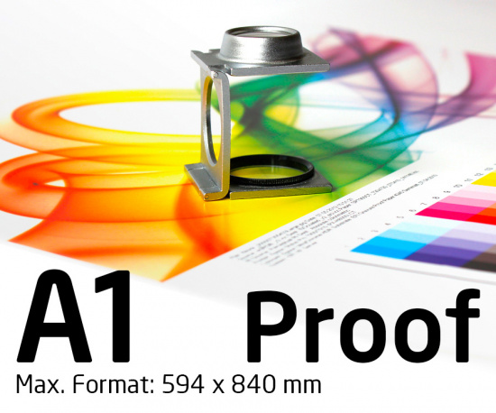 A1 Proof colour binding Digital Online Proof