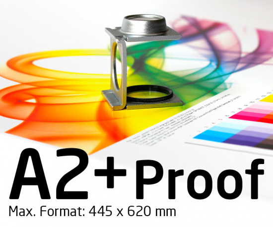 A2+ Proof colour binding Digital Online Proof