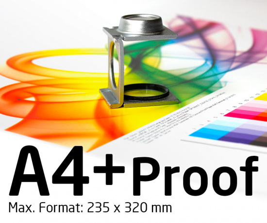 A4+ Proof, Color Proof. Digital Proof, Online Proof, Contract Proof