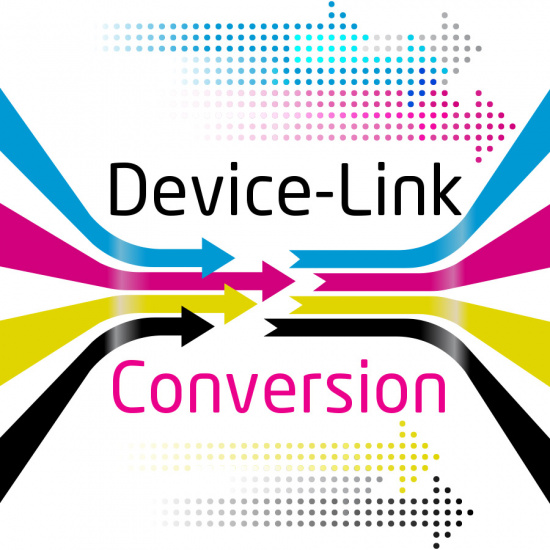 Profile-Conversion of print files via DeviceLink Profile