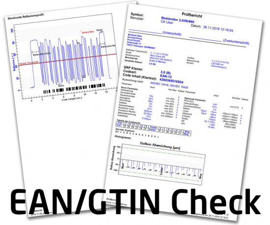 EAN / GTIN Check e.g. according to 3B criteria for ALDI