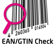EAN / GTIN barcode check and report e.g. for the ALDI 3B conformity