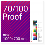 70/100 cm Proof, scale price from 38,00 EUR per Proof